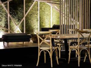 décor végétal pour l'espace lounge du salon Heavent 2018 par white panama