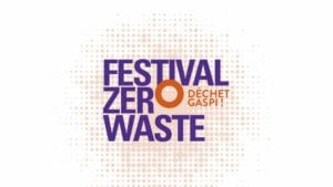 Evenement eco-responsable - logo Festival Zero Waste