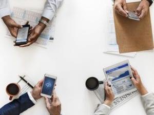 réunion connectée par wifi