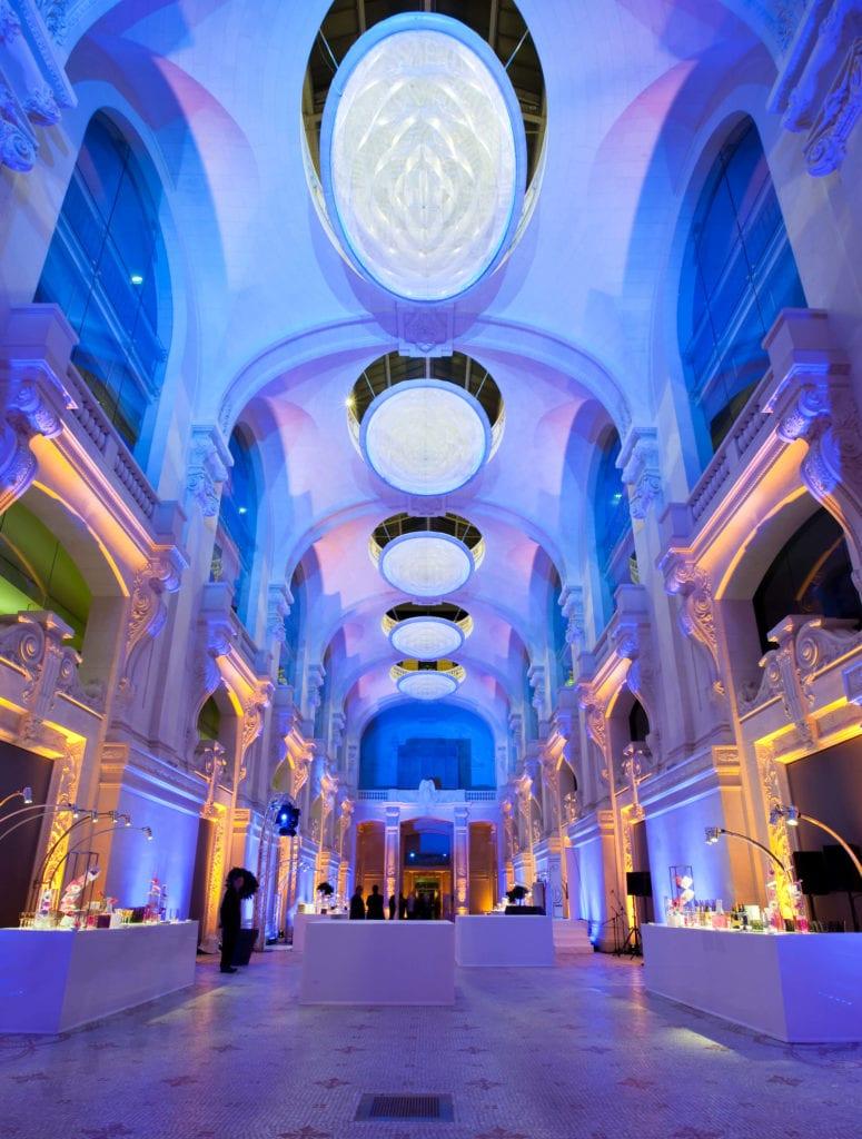 Larsen - Soirée au Musée des Arts Décoratifs 2- Mise en lumière Bâtiments Eclairage pro Paris