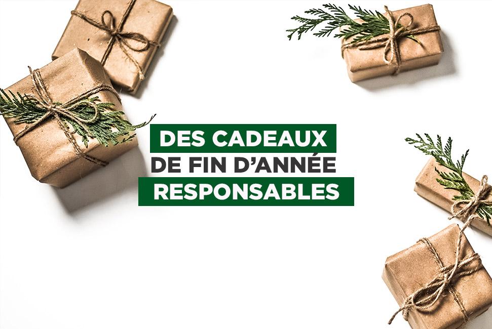 cadeaux d'entreprises responsables
